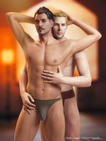 Dorian and Cullen by JavierMicheal
