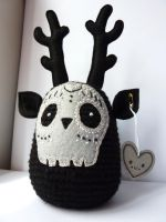 Embroidered crochet plush by LokiCoki by LokiCoki