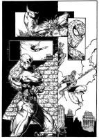 SpiderMan and Daredevil by luisalonso