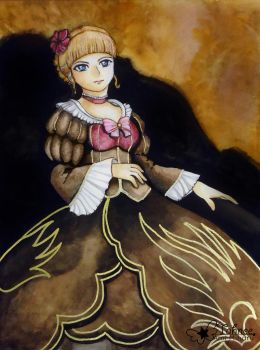 Beatrice, The Golden Witch by AmiMiharu