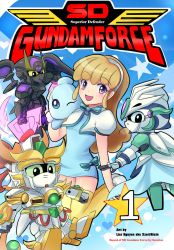 SD Gundam Force: Sayla AU cover by Xzeit