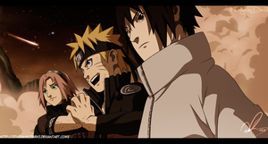 Naruto 631 At The End Gathered by IITheYahikoDarkII