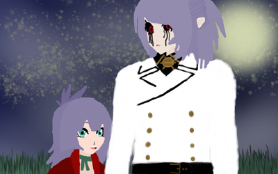 ONSx Fanfiction OC Lucio and Human Lacus Welt by Sephikuji