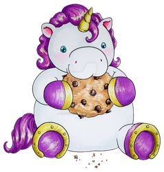 Cookie Unicorn by thedustyphoenix