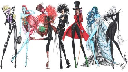 Tim Burton Full Collection by frozen-winter-prince