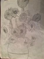 My Sunflowers version by Dracorider19