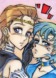 Seiya's fucking iPhone- ACEO no37 by unconventionalsenshi