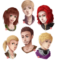 C - headshots batch 4 by zero0810