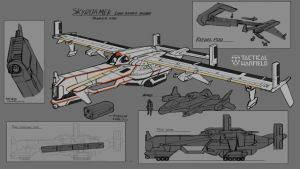 Tanker Rough Concept by Loone-Wolf