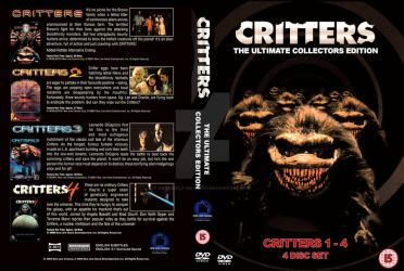 Critters Custom DVD Cover by Darkwolf-Howling