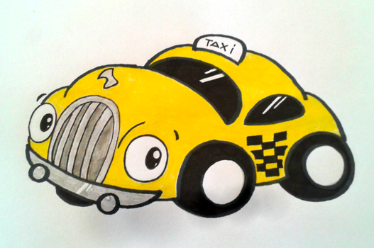 Mad Taxi (EarthBound / Mother 2) by GluryTheUnown
