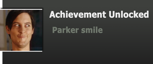 Achievement: Parker Smile by WolfProduction