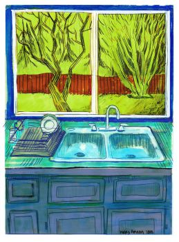 Kitchen Window by Inprismed