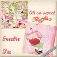 Oh so sweet freebie by VianneScraps