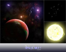 This is SPACE ART, tutorial by cchomikk