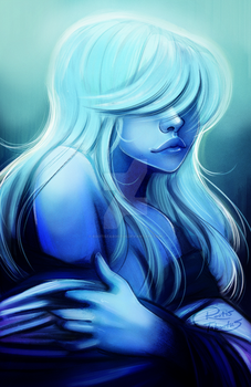 Steven Universe Sapphire by RootisTabootus