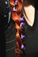 Violets in my hair by LucreciaMortishia