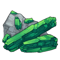Emerald - 300 Crystals by The-Below