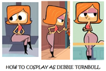 How to Cosplay as Debbie Turnbull by Prentis-65