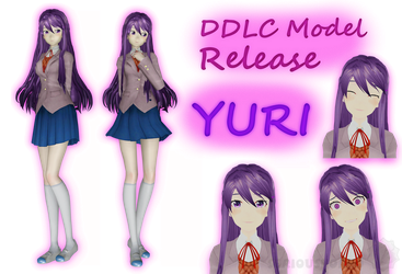 DDLC Model Release - Yuri by SeriousNorbo