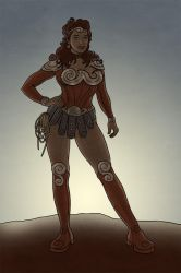 Diana Of Themyscira by The-Mirrorball-Man