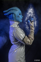 Liara t'soni cosplay by E2cosplay