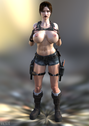 Lara Croft 29 by Vik3DX