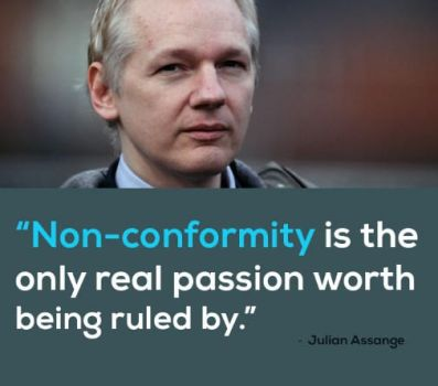 Assange quotes by HackNews by HackNewsEU