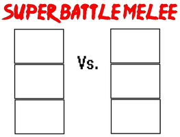 Super Battle Melee 3v3 meme by NeoduelGX