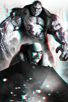 Solomon Grundy and Penguin 3-D conversion by MVRamsey
