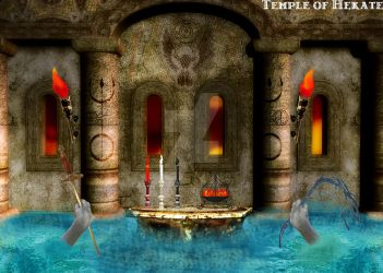 Temple of Hekate by the-storm-within