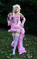 Chii Chobits Pink Lolita Gown by TheShiningPolaris