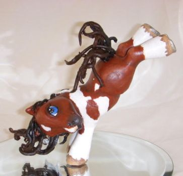 Custom My Little Pony Bucking by colorscapesart
