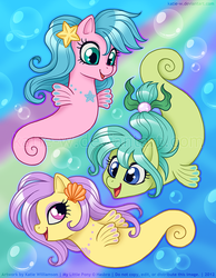 Call Upon The Sea Ponies! by Katie-W
