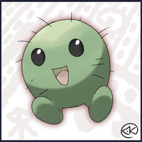 Cocobi, the Small Coconut Pokemon by KY-PHA