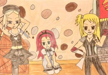 Lucy Ashley and the Hartley Sisters by StellarFairy