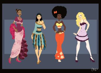 Ethnic Fashion Plate by Julibee-Darling