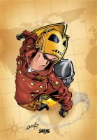The Rocketeer by wetterink