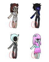 Faceless adopts (CLOSED) by Emptyproxy