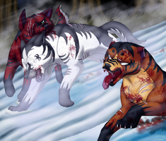 Commission: Sibling Hatred by Lifefantasyx