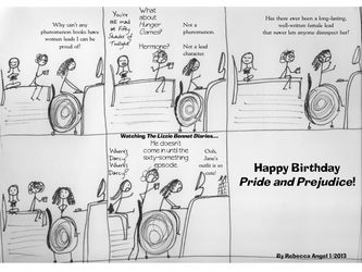 Happy Birthday Pride and Prejudice by fweever