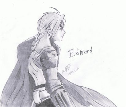 Edward Elric ~ FMA by OwnedSwiftStars14