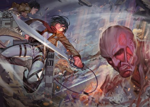 Attack on Titans by ra-lilium