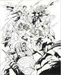 Avengers vs JLA by 0boywonder0