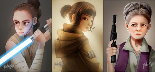 Star Wars Ladies by Pistachii