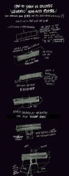 How to Draw a Semi-Auto Pistol by scruffyronin