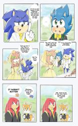 Sonic got Amy pregnant pg 104 by sonicxamy09