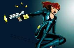 Blackwidow by KevinG-art