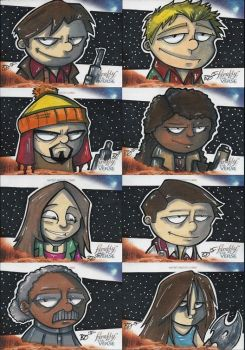 Firefly Sketch Cards by bdeguire