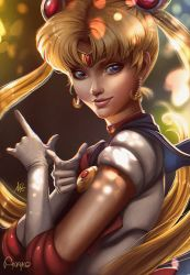Sailor Moon for Artgerm's Contest by Anako-ART